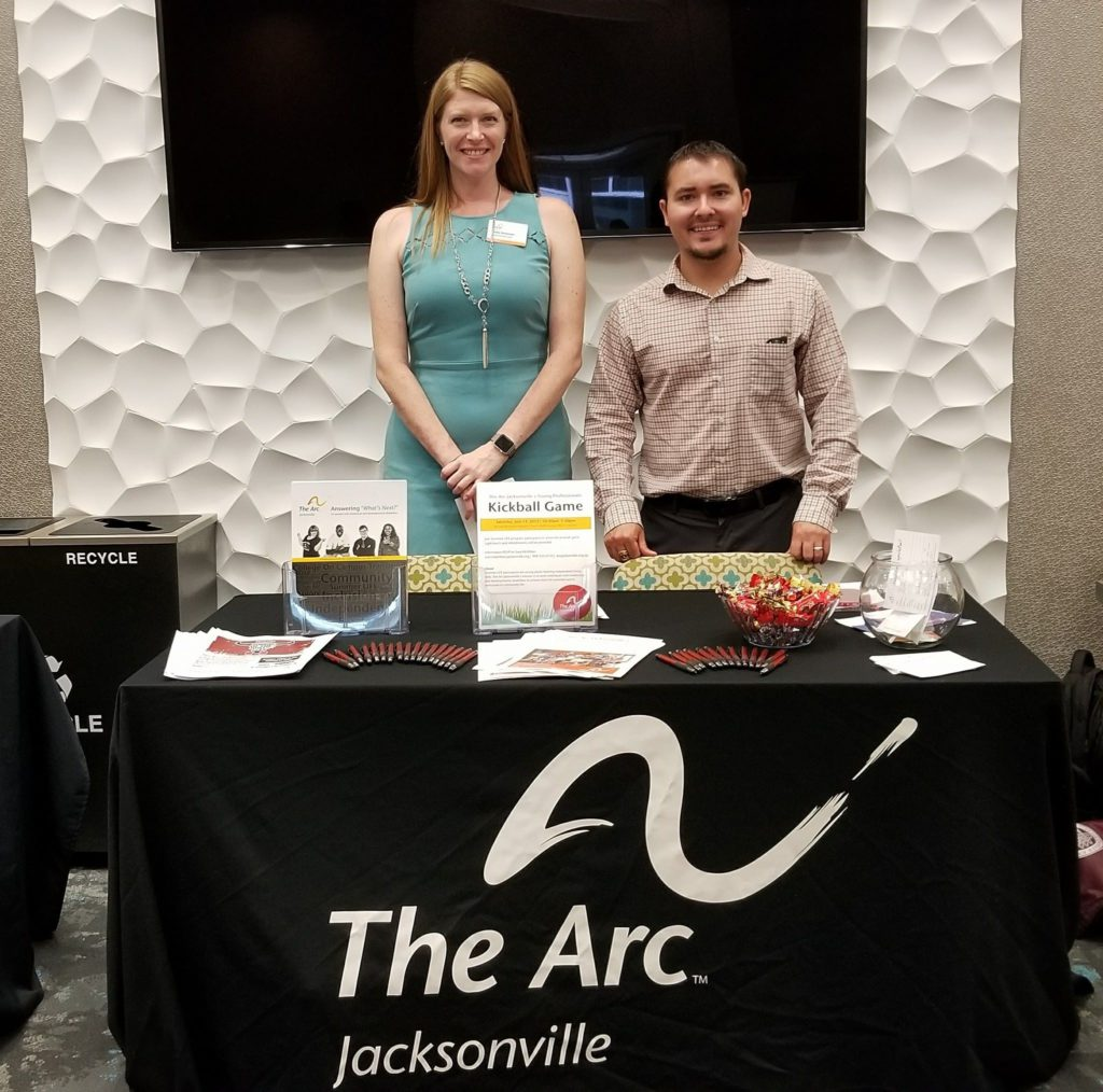 Shelby an Justin at Arc table