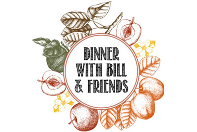 Dinner with Bill and Friends logo