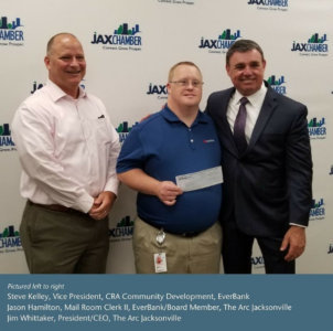 Jason with EverBank boss and Jim