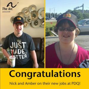 Nick and Amber job at PDQ