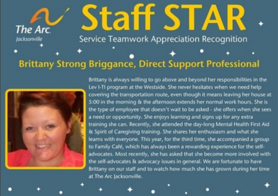 Brittany Staff STAR