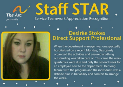 Desiree Staff STAR