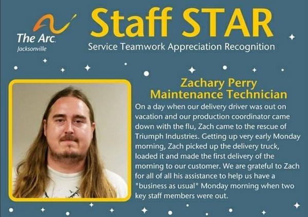 Zach Staff STAR