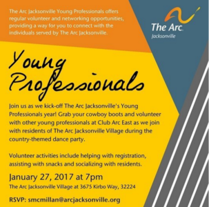 Young Professionals flyer