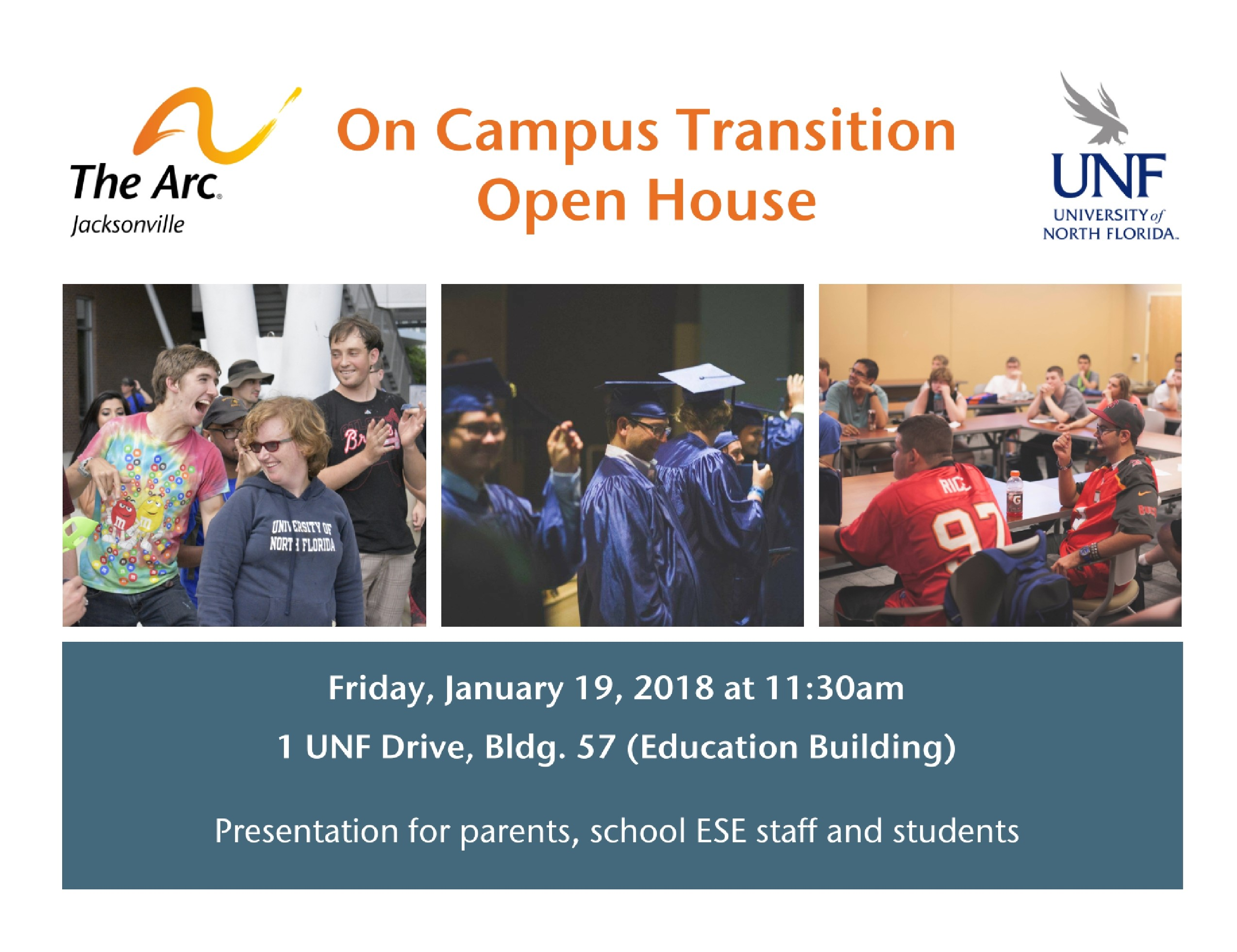OCT Open House Flyer